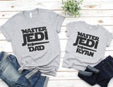 Personalized Master Jedi Shirt - Disney Vacation Shirts