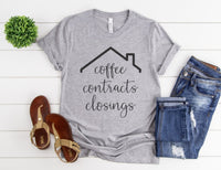 Coffee Contracts Closings Shirt