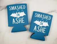 Smashed In Ashe Can Coolers Set of 6 - Asheville Can Coolers