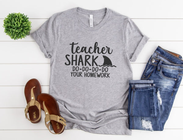 Teacher Shark Shirt