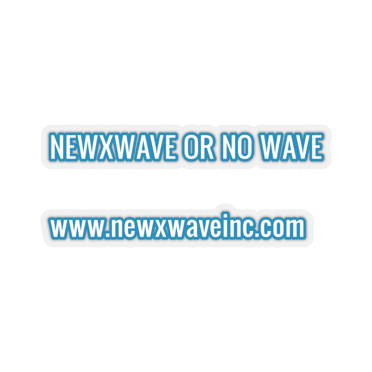 NXW OR NO WV Stickers