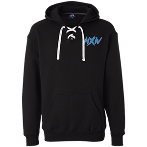 retro NXW laced hoodie