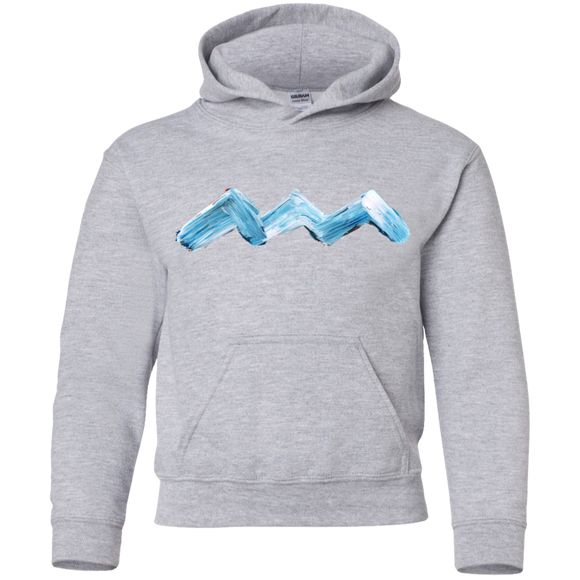 ABSTRACT WAVE Youth Hoodie