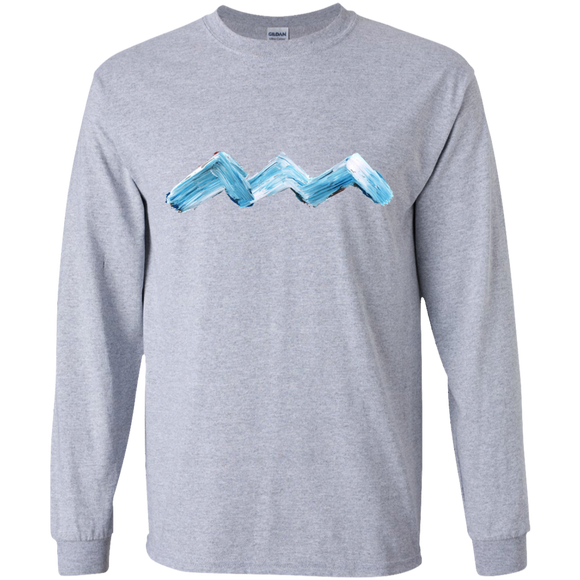 ABSTRACT WAVE Youth LS T-Shirt