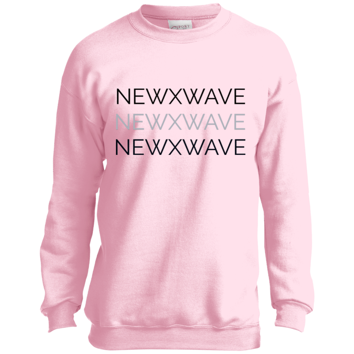 NXWX3 Youth Crewneck