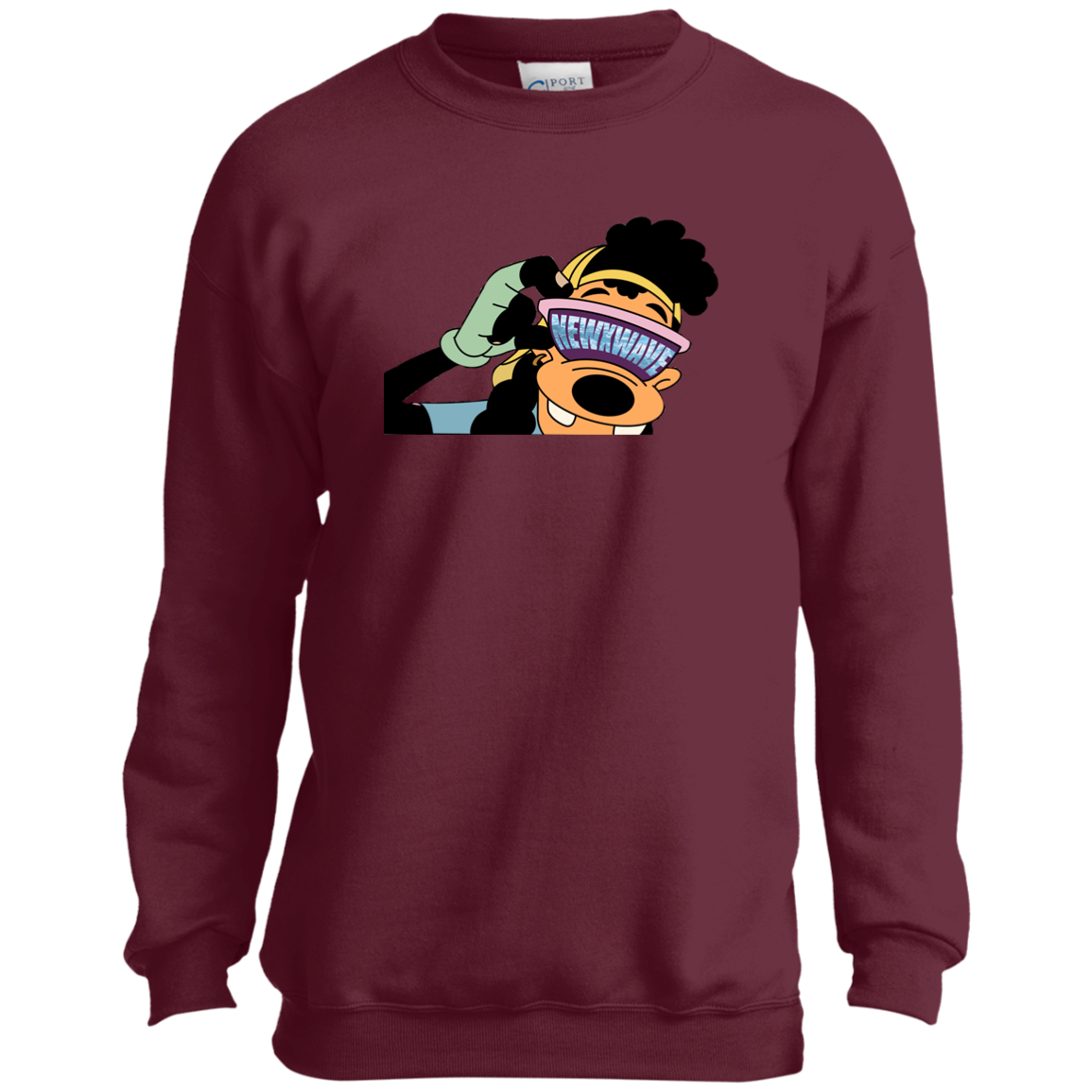 TheWaver Youth Crewneck
