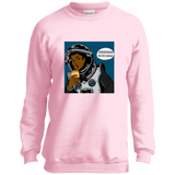 OUTTA SPACE Youth Crewneck Sweatshirt
