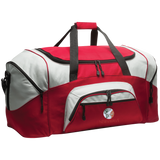 NXW: Colorblock Sport Duffel (red print)