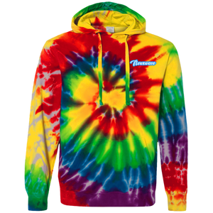Outlined Backhand NXW Tie-Dyed Hoodie