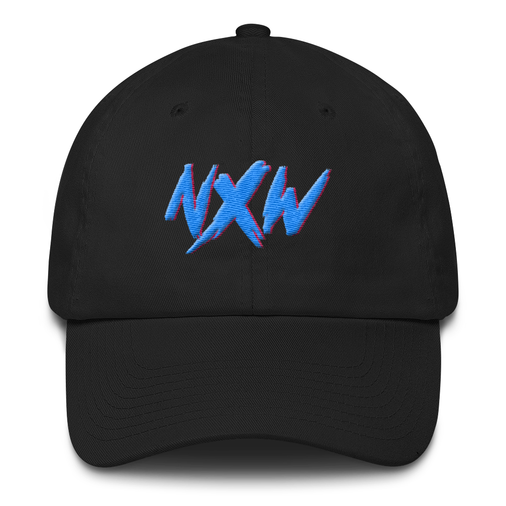 retro NXW dad cap (RAISED EMBROIDERY)