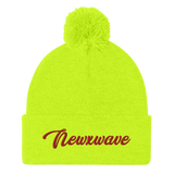 Red Backhand NXW Beanie