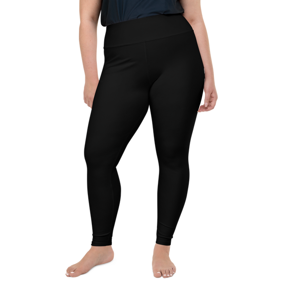 Black & White NEWXWAVE Leggings (plus size)