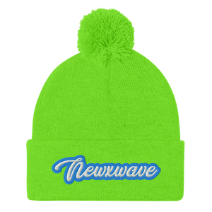 Blue Backhand NXW Beanie