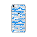Blue Backhand NXW iPhone Case
