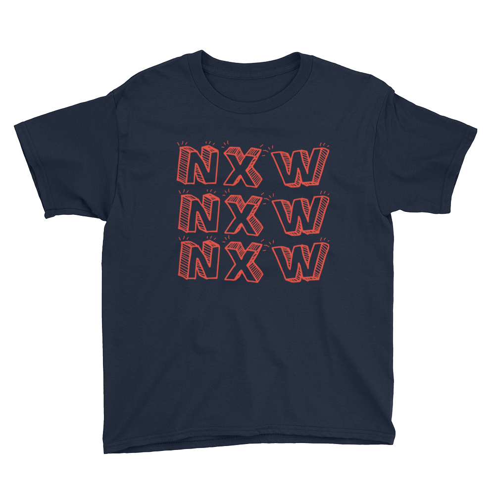 3x's NXW Youth T-Shirt