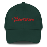 Red Backhand NXW Dad hat