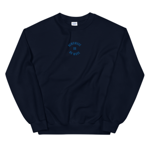 Circle Wave Crew (Embroidered)