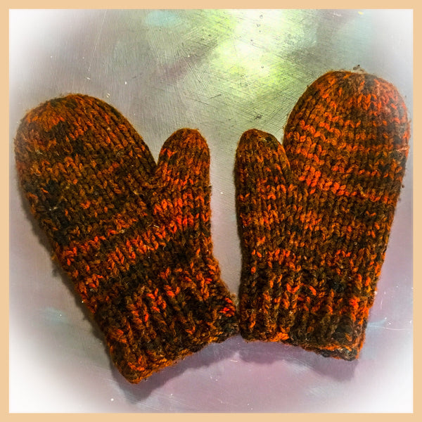 Knit Workshop Peace Mittens