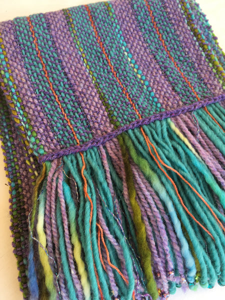 Can I weave with this yarn on my rigid heddle loom?