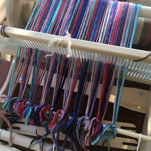 Rigid Heddle Weaving Series part 2 - Threading the Loom & Begin Weaving
