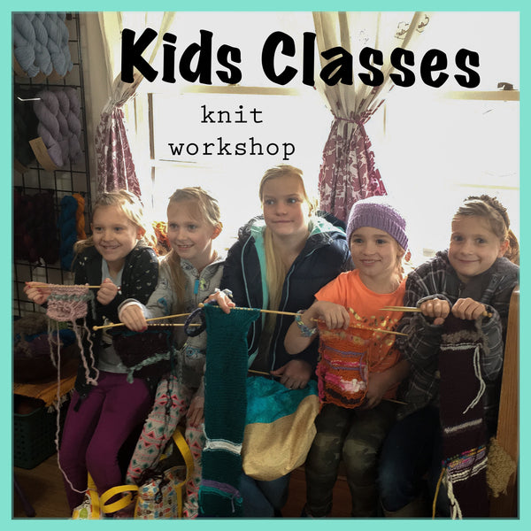Kid's Knit Workshop