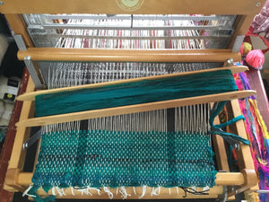 Beginning Weaving Workshop - silk placemat