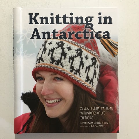 Knitting in Antarctica