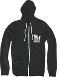 Zippered Eco-Fleece Hoodie