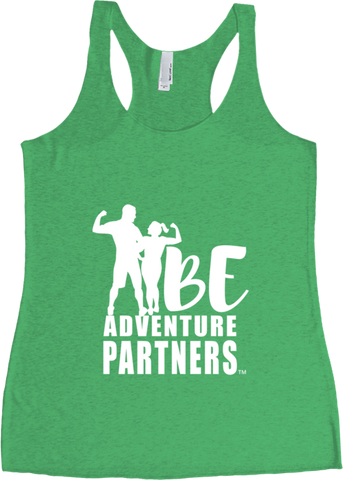 BE Adventure Partners - Women's Racerback Tank
