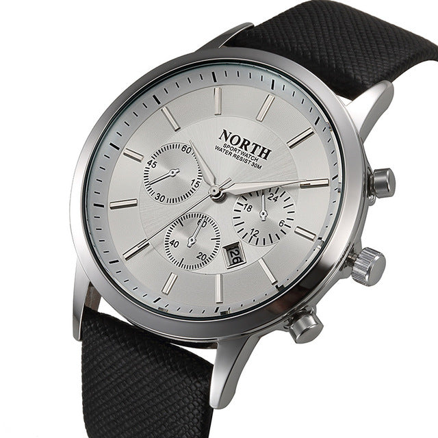 Casual North Leather Strap