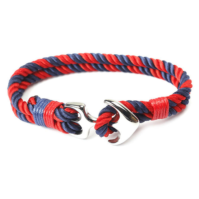 Nautical Rope Bangle Bracelets