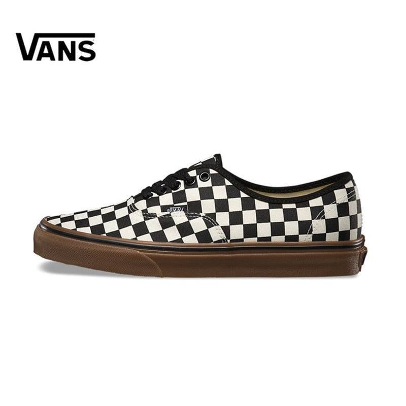 Original New Arrival Vans Men's & Women's Classic Authentic Low-top Skateboarding Shoes Sneakers Canvas
