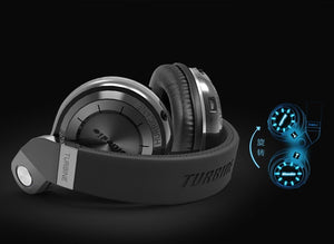 Bluedio T2S Wireless Headphones with Microphone (Shooting Brake)