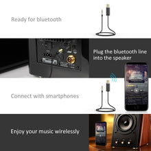 Bluedio BL Bluetooth Audio Receiver with 3.5mm Jack Cable