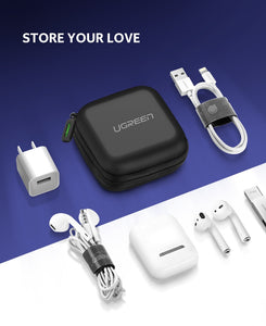 UGreen Hard Case for Earphones, Cables, Chargers and Other Items