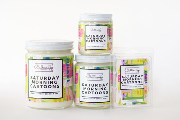 Saturday Morning Cartoons - Soy Melts & Candles