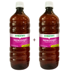 Nefrogin+ Syrup 950ml - Sugar Free - Pack of 2 - Patented Ayurvedic Syrup
