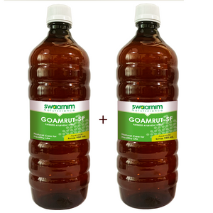 Goamrut Syrup 950ml - Sugar Free - Pack of 2 - Patented Ayurvedic Syrup
