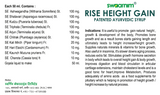 Rise Height Gain Syrup 950ml - Sugar Free - Pack of 2 - Patented Ayurvedic Syrup