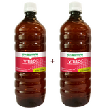 Vitisol Syrup 950ml - Sugar Free - Pack of 2 - Patented Ayurvedic Syrup