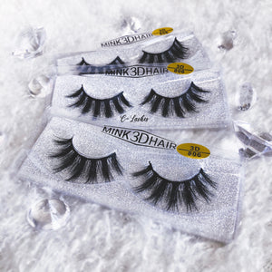 long strip lashes
