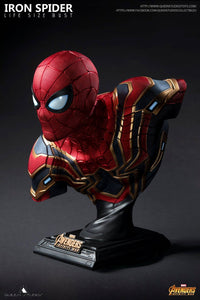 Queen Studios Spider-man 1:1 Scale Lifesize Bust