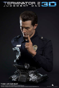 Queen Studios T1000 1:1 Scale Lifesize Bust