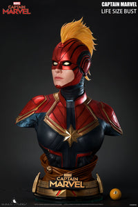 Queen Studios 1:1 Scale Captain Marvel Lifesize Bust