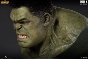 Queen Studios 1:1 Scale Hulk Lifesize Bust