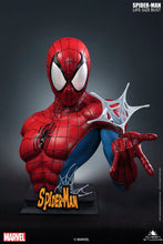 Queen Studios Spider-man Blue/Red 1:1 Scale Lifesize Bust