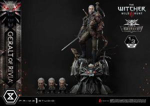 Prime 1 Studio Geralt of Rivia (The Witcher 3: Wild Hunt) (2 Versions) 1:3 Scale Statue