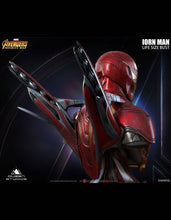 Queen Studios Iron Man MK50 (Damaged Version) 1:1 Scale Lifesize Bust