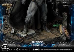 Prime 1 Studio Justice Buster + Batman (Ultimate Version) (Josh Nizzi Design) Statue