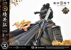Prime 1 Studio Jin Sakai, The Ghost - Ghost Armor Edition (GHOST OF TSUSHIMA) 1:4 Scale Statue